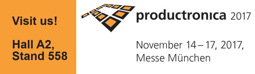 Invitation to Productronica trade fair