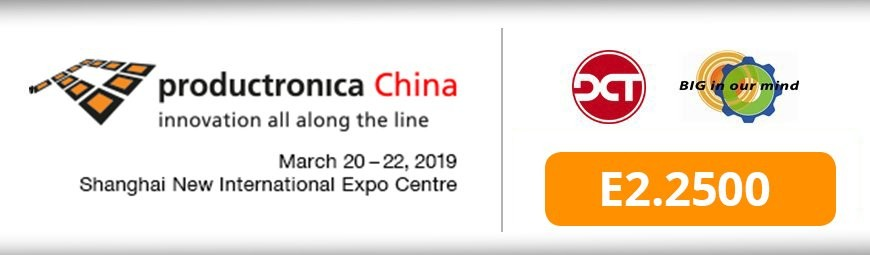 DCT at Productronica China 2019